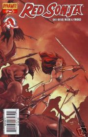Red Sonja #25 Cover C Paul Renaud NEW